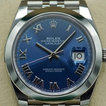 Rolex Datejust Steel 41mm Blue United States of America, Massachusetts, Pittsfield