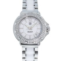 TAG Heuer Formula 1 Lady pre-owned 37mm White Date