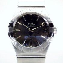 Omega Constellation Men Acero 38mm Gris
