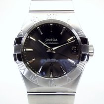 Omega Constellation Men Сталь 38mm Cерый