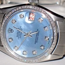 Rolex Datejust Steel 31mm Blue No numerals United States of America, New York, New York