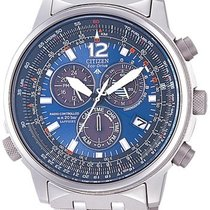 Citizen Men's AS4050-51L Crono Pilot Titanium Watch
