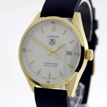 TAG Heuer Yellow gold Automatic 37mm pre-owned Carrera