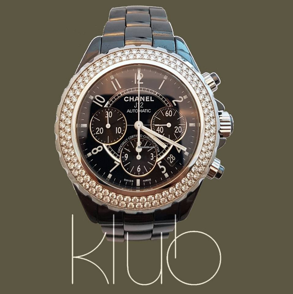 d368a898049 Relógios Chanel J12 usados