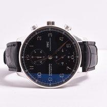 IWC Portoguese Chronograph Black IW3714