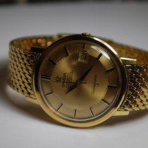 "Omega Constellation ""Pie Pan"" braccialetto oro"