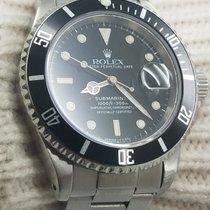 Rolex Submariner 16610 Black Mens Automatic Watch 40mm