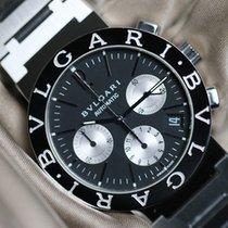 Bulgari chrono black dial full set
