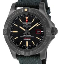 Breitling Avenger Blackbird 44 Titanium 44mm Black No numerals United States of America, New York, Greenvale