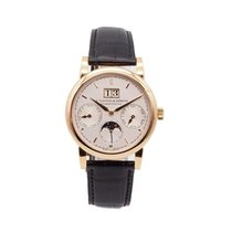 A. Lange & Söhne 330.032 Rose gold 2012 Saxonia 38.5mm pre-owned