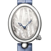 Breguet Reine de Naples Steel 32.7mm Mother of pearl United Kingdom, London