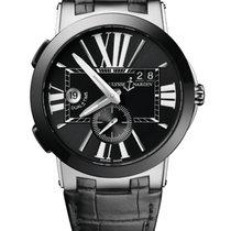 Ulysse Nardin 243-00 Steel Executive Dual Time