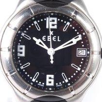 Ebel E-Type Çelik 37mm Siyah Arapça