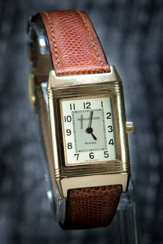ed294b55b0cb Jaeger-LeCoultre Reverso 18K Yellow Gold - JLC 260108 for  3