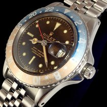Rolex GMT-Master 1675 PCG Tropical Brown Gilt Chapter Ring OCC...