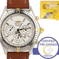 Breitling Shadow Flyback Gold/Steel 38mm Champagne