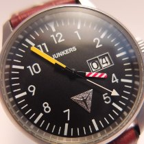 Junkers Steel 37mm Quartz pre-owned