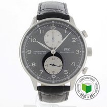 IWC Portuguese (submodel) Steel 41mm Black Arabic numerals