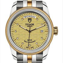 Tudor Glamour Date-Day Steel 39mm Champagne