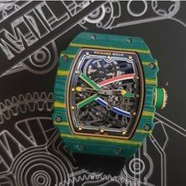 Richard Mille RM 67 Carbone 38.7mm Transparent Sans chiffres