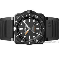 Bell & Ross BR 03-92 Ceramic new 2019 Automatic Watch with original box and original papers BR0392-D-BL-CE/SRB