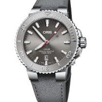 Oris Aquis Date Steel Grey
