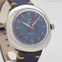 Wittnauer Steel Automatic Silver Arabic numerals 40mm pre-owned