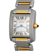 Cartier W51007Q4 Steel Tank Française 20mm pre-owned United States of America, Texas, Dallas