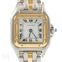 Cartier Gold/Stahl 22mm Quarz 166921 gebraucht Deutschland, Weißenbrunn
