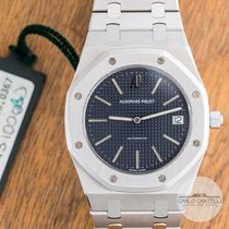 Audemars Piguet Royal Oak Jumbo Сталь 39mm Cерый Без цифр