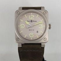 Bell & Ross BR 03 Steel 42mm Grey Arabic numerals