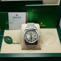 Rolex Day-Date II Platinum 41mmmm Blue United States of America, New York, New York