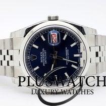 Rolex Datejust 116200 36MM  Blue Dial Jubileè