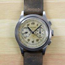 Movado Vintage M90 Chronograph Breguet Numerals