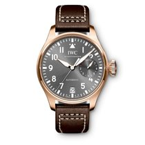 IWC Red gold Automatic Grey Arabic numerals 46mm new Big Pilot