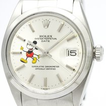 Rolex Oyster Perpetual Date Mickey Mouse 1500 Automatic Mens...