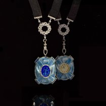 Van Cleef & Arpels RARE1900s Platinum Diamond 18Kt Cameo...
