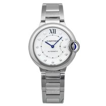 Cartier Ballon Bleu 33mm WE902074 new