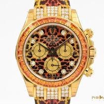 Rolex Daytona Gold Leopard NOS Ser. Z Full Set