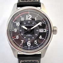 Hamilton 40mm Automatic 2013 pre-owned Khaki Field Black