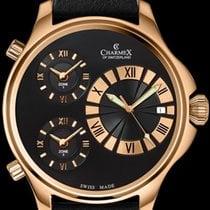 Charmex Steel 48mm Quartz Charmex Cosmopolitan II 2591 Qz mens watch new