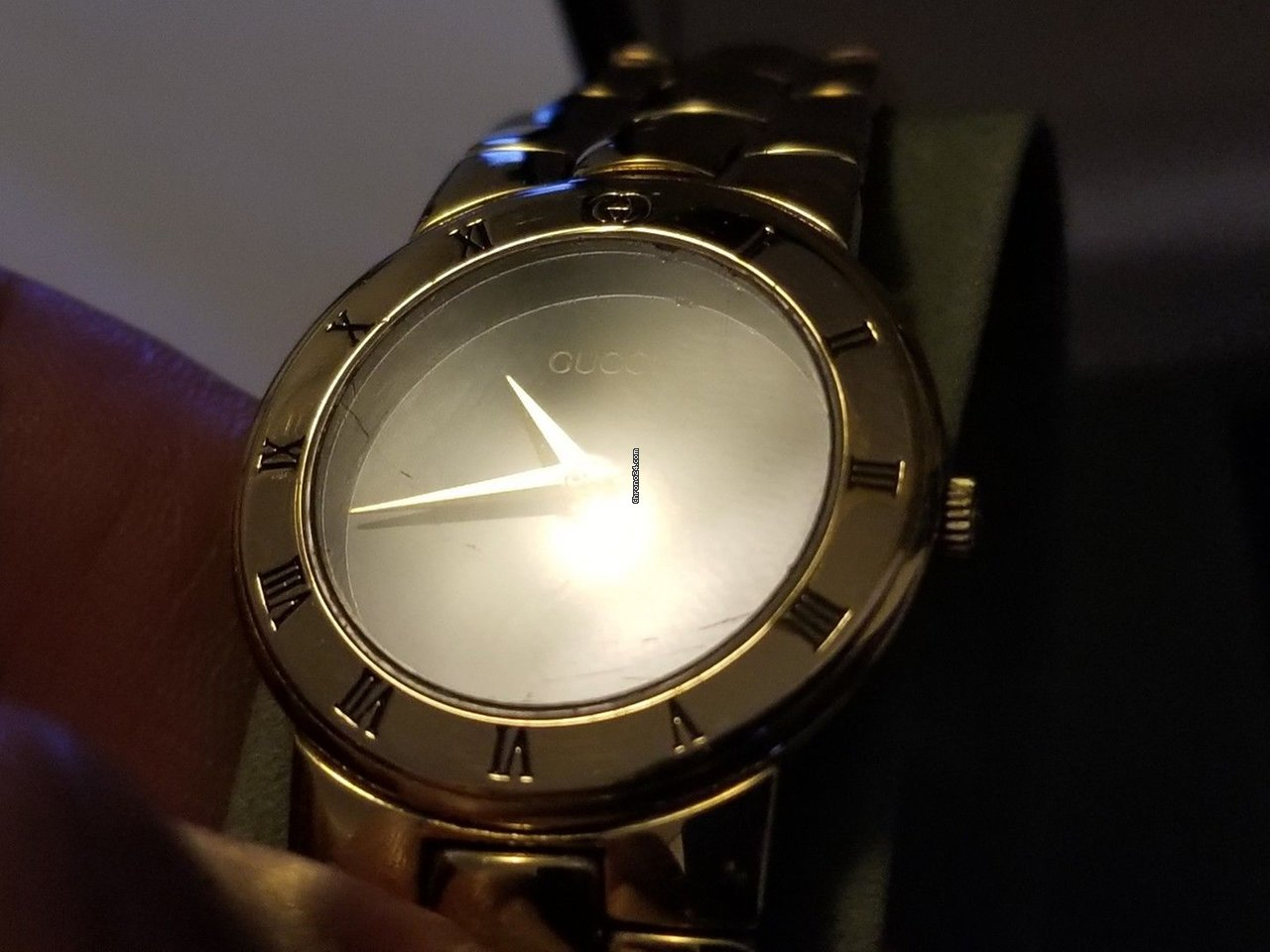 d148ec316d8 Gucci Vintage Gucci 3300.2.l 18k Gold Plated Ladies Quartz... for  450 for  sale from a Trusted Seller on Chrono24