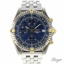 Breitling Chronograph 39.5mm Automatic pre-owned Chronomat (Submodel) Blue