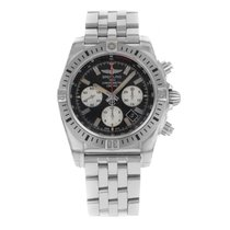 Breitling Chronomat 44 Airborne Steel 44mm Black No numerals United States of America, New York, NYC