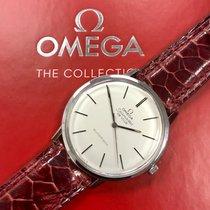 Omega De Ville Steel 34mm Silver