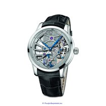 Ulysse Nardin Classic Skeleton Tourbillon White gold 44mm Silver Roman numerals United States of America, California, Newport Beach