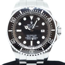 Rolex 44mm Automatic 2011 pre-owned Sea-Dweller Deepsea Black