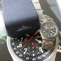 Sinn Chronograph 41mm Automatic 1994 pre-owned 144 Black