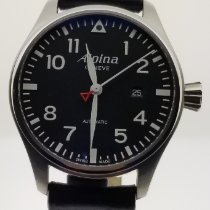 Alpina Women's watch Startimer Pilot 44mm Quartz new Watch with original box and original papers