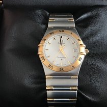 Omega Constellation Gold/Steel 35mm White